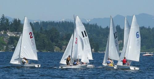 FJs on Lake Washington