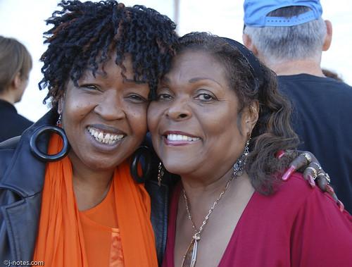 Faye Carol & Denise Perrier