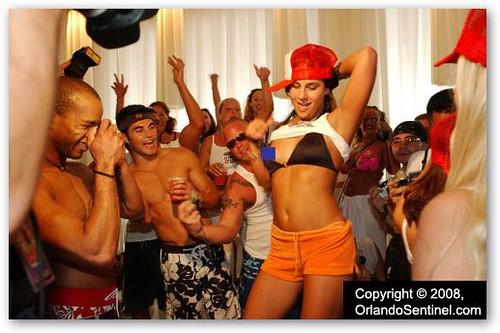 Amber Arpaio Dancing Nude