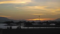 Playa de la Malagueta (pnooom) Tags: sunset sky españa málaga espaa mlaga