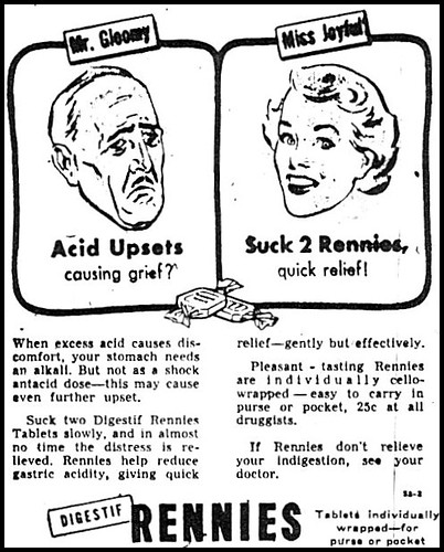 Windsor Daily Star 1952 Rennies