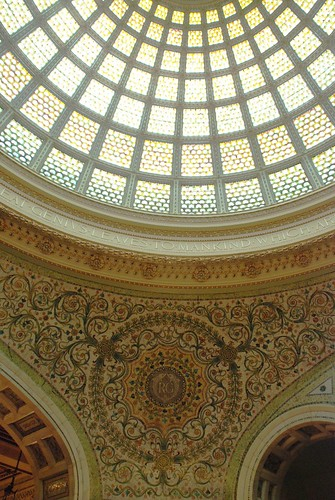 Tiffany Dome restoration: The light is amazing II