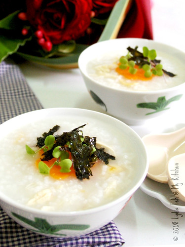 Scallop & Shredded Chicken Porridge