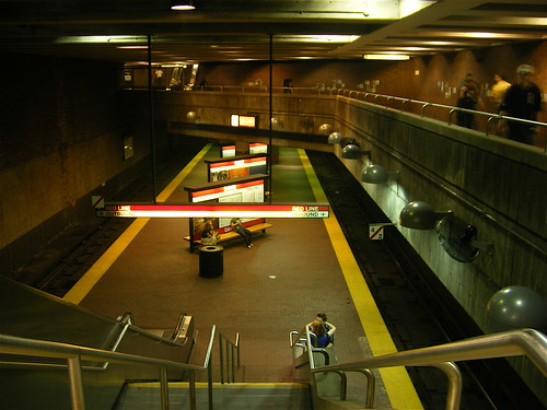 The Red Line, Boston (Davis)