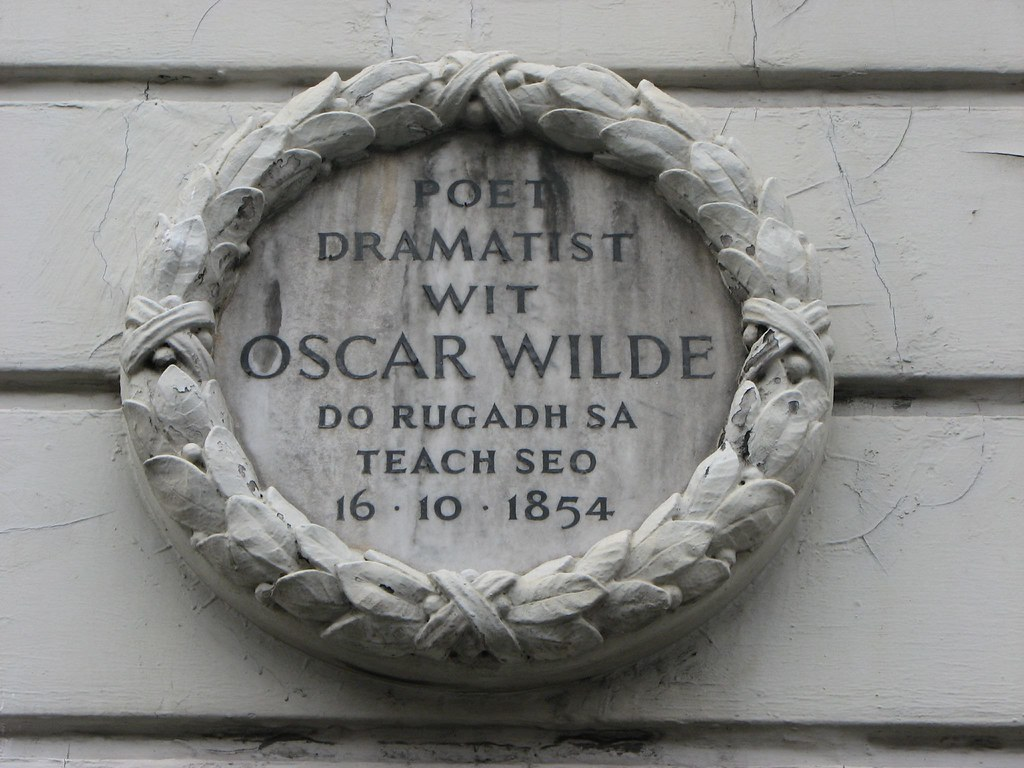 Oscar Wilde's birthplace, Dublin