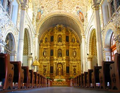 Church of Santo Domingo de Guzman () Tags: church de mexico gold leaf dominican interior monk historic monastery oaxaca historical inside former excessive domingo santo dominic mex guzmn iglasia eglasia rafa2008oax