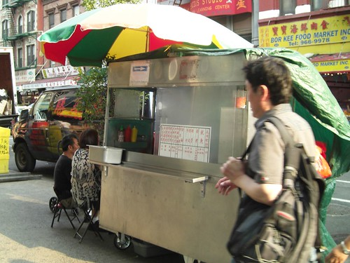 cheung fun cart on grand st