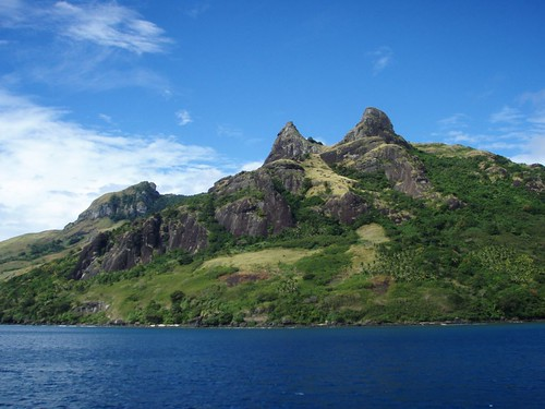 Moutains in Nalauwaki Bay , Waya Island