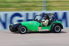 Green Westfield (Matt_Daniels) Tags: england westfield motorsport rockinghammotorspeedway d40x