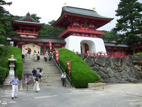 Shimonoseki Shinto religion shrine