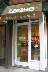 Tease Bubble Tea Shop by Mr. T in DC, on Flickr