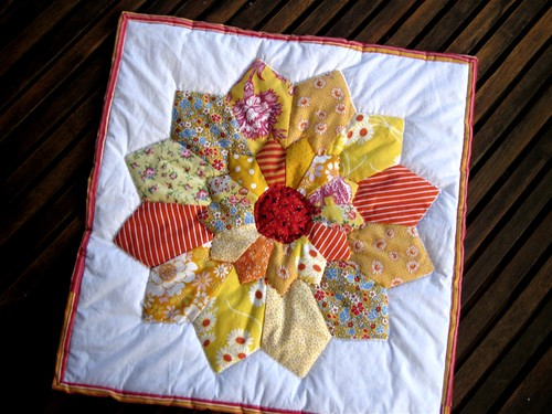 4 Seasons Quilt Swap - Summer received
