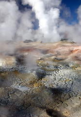 Another world (Jessie Reeder) Tags: travel southamerica colors landscape desert earth bolivia steam international geyser cracked sudamrica lagunacolorada