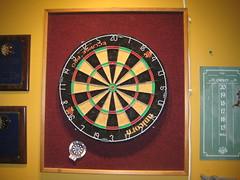 home dart board