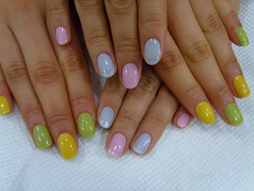 nail designs collections in beauty salon