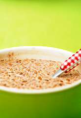 Good morning! (3bdlr7mannn) Tags: green breakfast nikon bright coco pops d300 nikkor50mm18 flashyyy