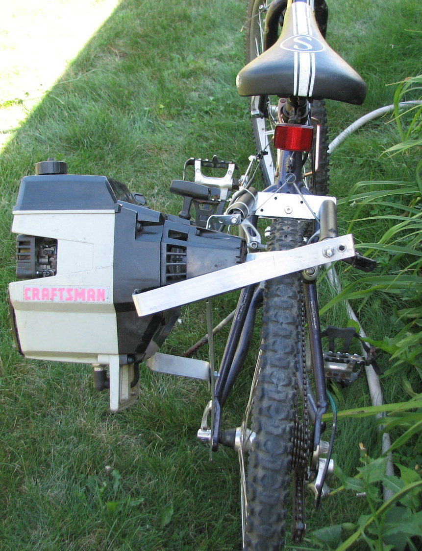 How To Put A Weed Wacker Motor On A Bike