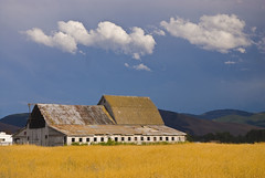 Mullan Road (cbonney) Tags: road sky barn big montana missoula mullan overtheexcellence