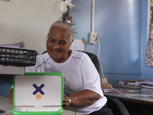The worlds oldest XO user (we think) :) Shes 70yo