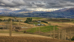 Mackenzie District in Winter (AllisonwonderlandNZ) Tags: newzealand landscape farmland mackenzie hdr southcanterbury top20nz mackenziedistrict