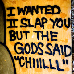 I Wanted II Slap You But the Gods Said Chiiilll (Thomas Hawk) Tags: sanfrancisco california usa abandoned graffiti treasureisland unitedstates fav50 10 unitedstatesofamerica fav20 urbanexploration fav30 pandasex fav10 fav25 fav40 fav60 fav80 fav70 superfave