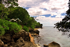 (the-earth-colors) Tags: sea mountain seascape hot beach nature landscape rockies seafront canoneos watcher glendon misamisoriental filipinoart initao 40d mountainousregion naturewatcher macquinto