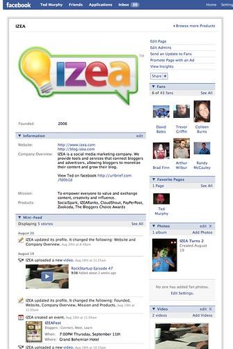 IZEA on Facebook