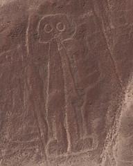 Nazca Photos (Scubaben) Tags: peru canon 350d sigma astronaut nazcalines nazca