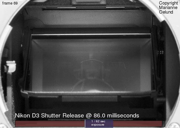 Time lapse 'movie' of a Nikon D3 shutter release
