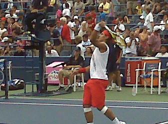 Rafael Nadal. This close