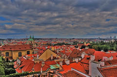 Prague 2008 - View from Hradschin (let) Tags: travel panorama europe republic czech prague prag praha tschechien hradschin altstadt moldau goldenestadt
