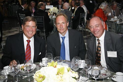 Tim Berners-Lee, Alberto Ibargüen, Charles Overby