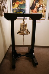 USS Wahoo (SS-238) Bell (cliff1066) Tags: bridge museum hawaii oahu navy submarine worldwarii pearlharbor missile torpedo harpoon controlroom poseidon usnavy officer wahoo engineroom polaris galley ussmissouri deckgun antiaircraft caliber ballistic navigationsystem parche ussbowfin historiclandmark conningtower wardroom battleflags submarinemuseum quadgun
