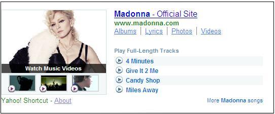 Rhapsody WOW Madonna 2