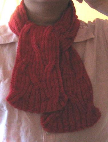 Cordelia's scarf