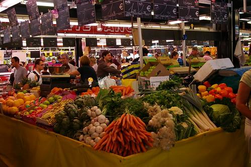 忙碌的菜市場07