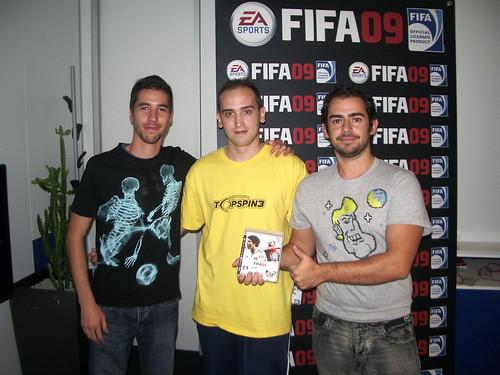 Presentación de FIFA 09