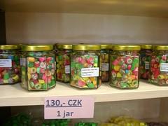 Il dolcissimo prodotto finale (Elwyng) Tags: praha praga pasticceria zucchero caramelle