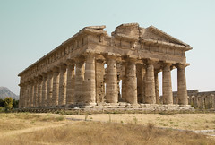 Temple of Hera , Paestum, Italy (Ferdi's - World) Tags: bridge italy building temple day4 paestum italie sicilia tempel djoser napels summerholiday2008 takenbyferdi