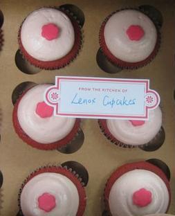 box from Lenox Cupcakes