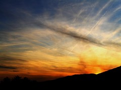 tramonto sui castelli (fallacciana1) Tags: sunset shadow sun tramonto ombre sole castelli romani artena