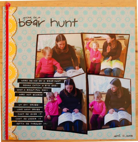 Bear Hunt Layout