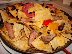 Steak Nachos, Room Service item at Palms Place Hotel, Las Vegas NV (Harvey-Harv) Tags: food sony lasvegasnv sincitylasvegas steaknachos sonydscn2