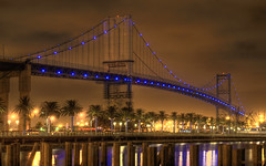 Vincent Thomas Bridge (s.j.pettersson) Tags: desktop nightphotography bridge architecture reflections losangeles bridges longbeach suspensionbridge hdr sanpedro fineartphotography artisticphotography 1920x1200 vincentthomasbridge widescreenwallpaper macwallpaper widescreendesktop artofphotography infinestyle worldphotography highqualityphotography multimegashot themostofthemost wwwsjpetterssoncom sjpettersson highqualitywidescreenwallpaper highqualitydesktopwallpaper