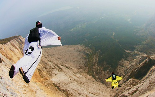 volar Wingsuit Base Jump