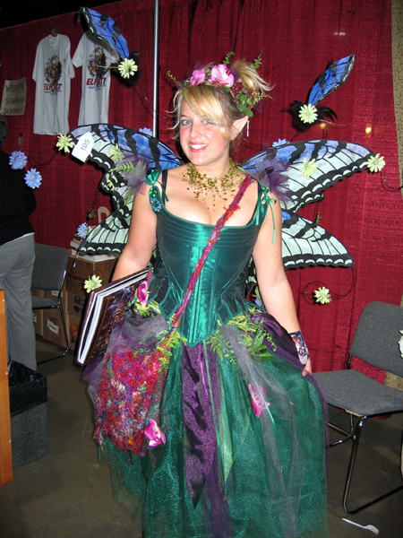 Green Faerie (Click to enlarge)