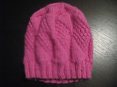 finished toddler hat