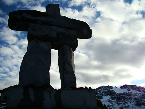 Inukshuk-Official Symbol of the 2010 Winter Olympics by