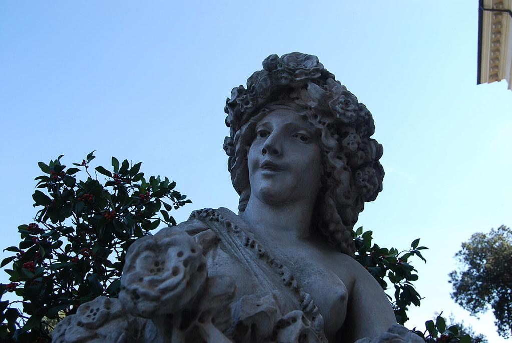 Estatua de la Villa Borghese