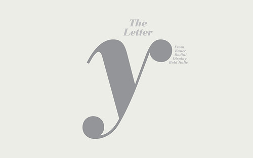 the letter y from bauer bodini d bold italic widescreen wallpaper